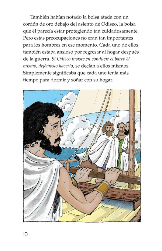 Book Preview For Odysseus and the Bag of Winds Page 10