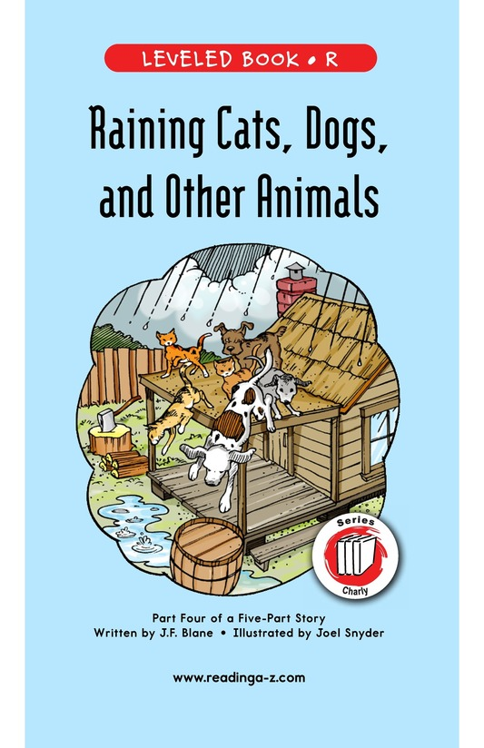 Book Preview For Book 4: Raining Cats, Dogs, and Other Animals Page 1