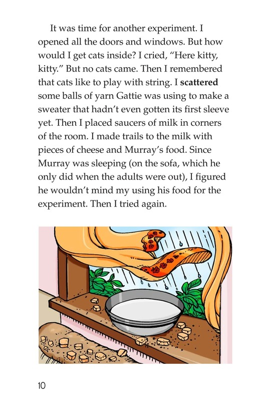 Book Preview For Book 4: Raining Cats, Dogs, and Other Animals Page 10