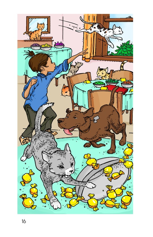 Book Preview For Book 4: Raining Cats, Dogs, and Other Animals Page 16