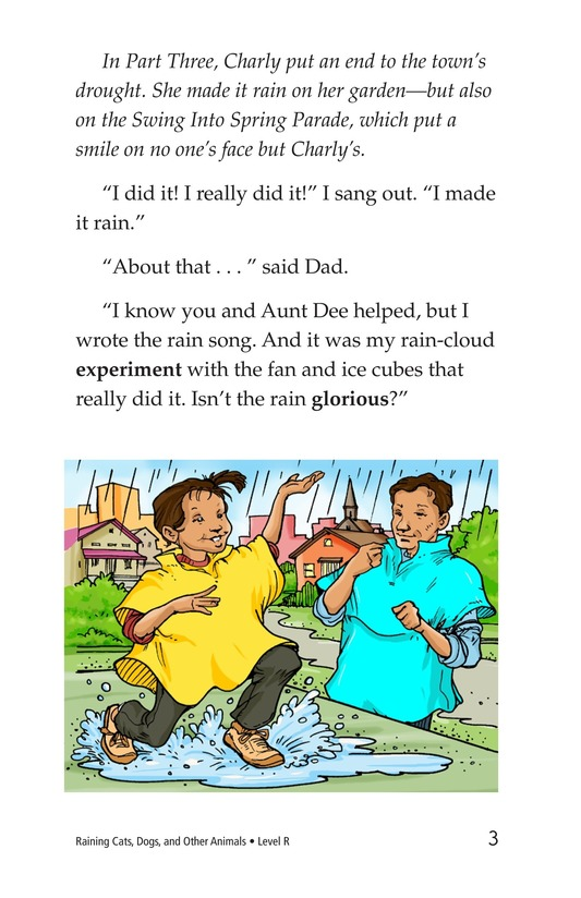 Book Preview For Book 4: Raining Cats, Dogs, and Other Animals Page 3