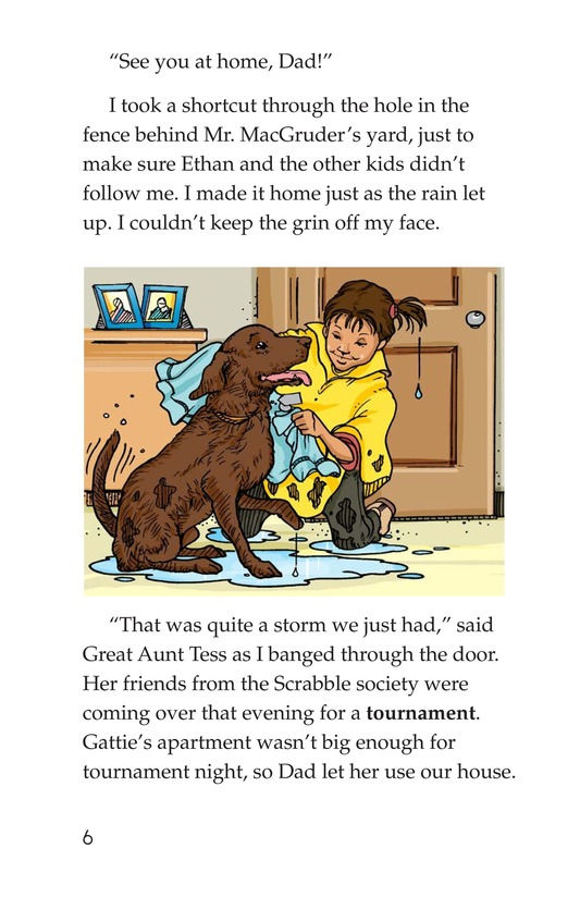 Book Preview For Book 4: Raining Cats, Dogs, and Other Animals Page 6