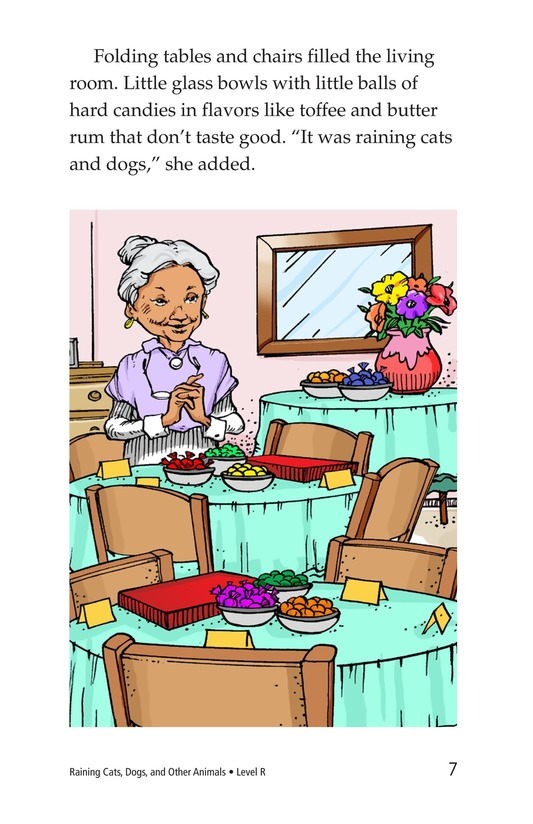 Book Preview For Book 4: Raining Cats, Dogs, and Other Animals Page 7
