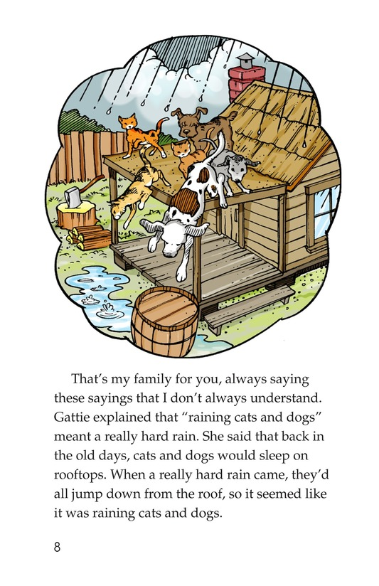 Book Preview For Book 4: Raining Cats, Dogs, and Other Animals Page 8