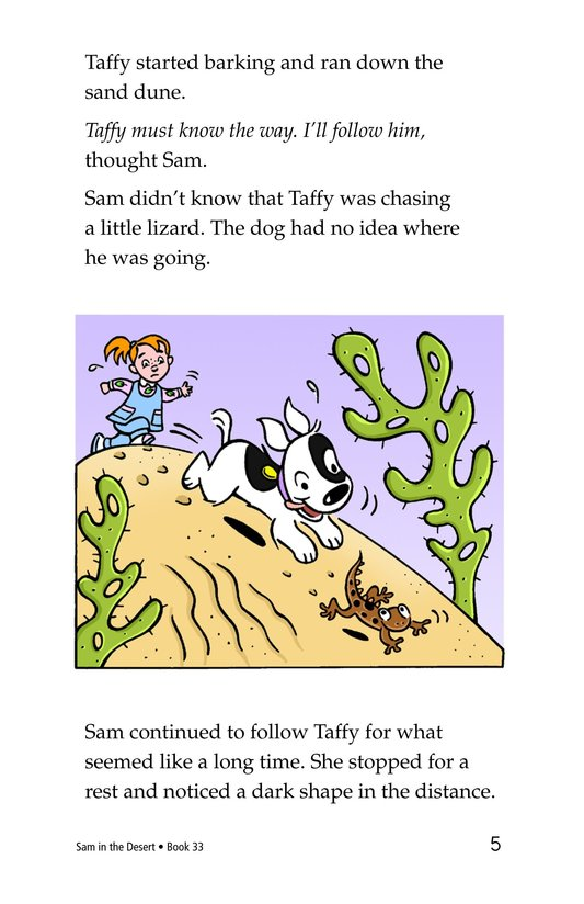 Book Preview For Sam in the Desert Page 5