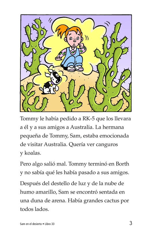 Book Preview For Sam in the Desert Page 3