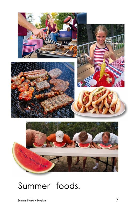Book Preview For Summer Picnics Page 7