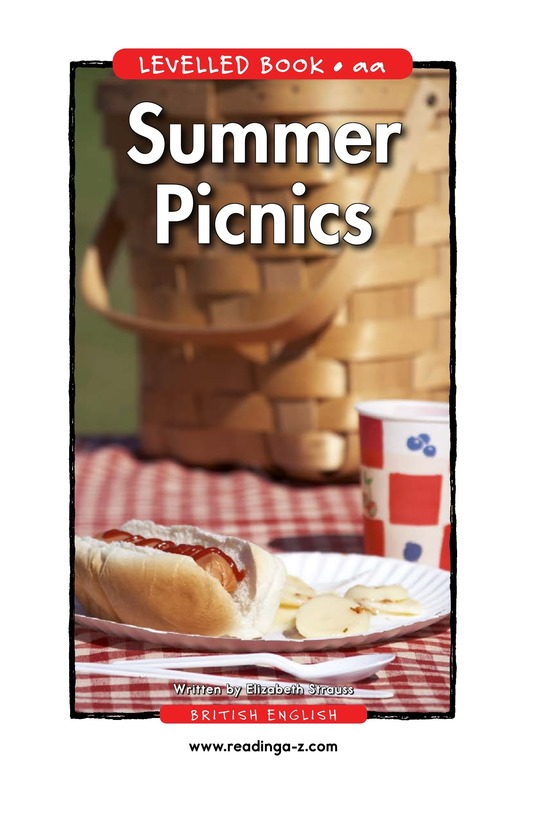Book Preview For Summer Picnics Page 1