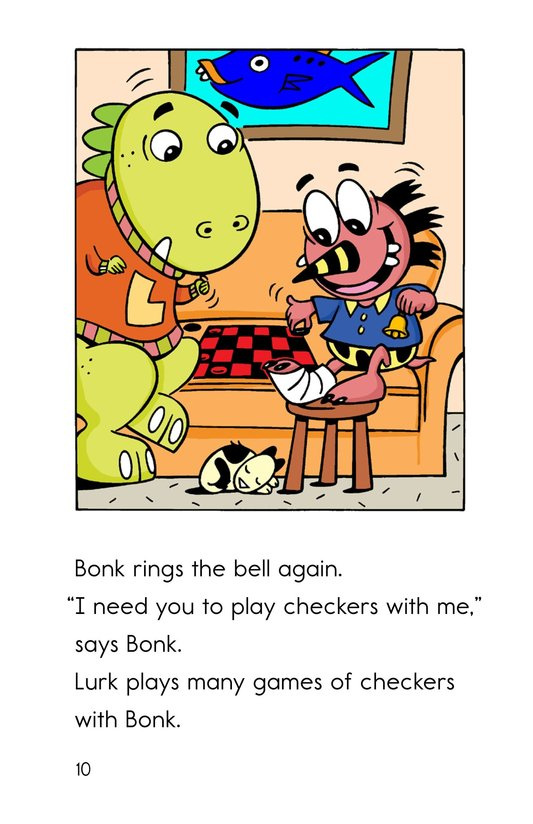 Book Preview For A Broken Leg for Bonk Page 10