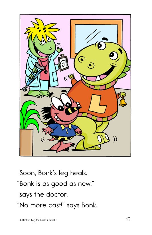 Book Preview For A Broken Leg for Bonk Page 15
