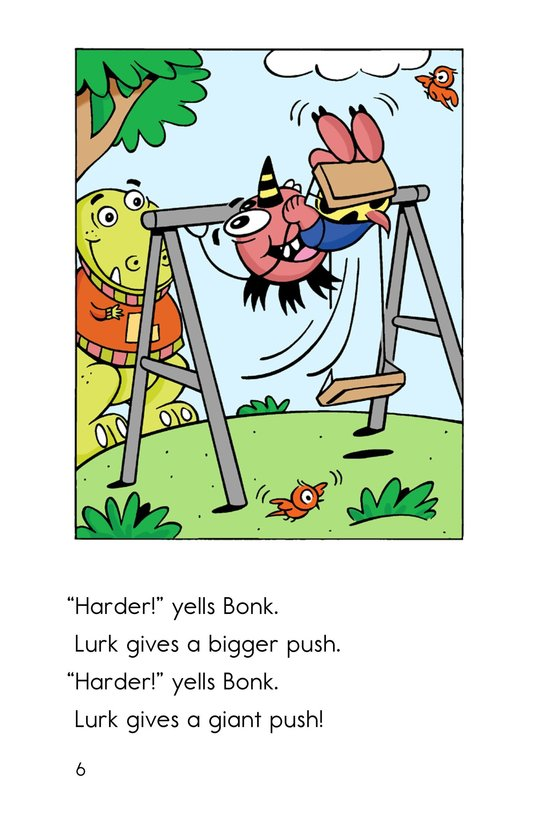 Book Preview For A Broken Leg for Bonk Page 6