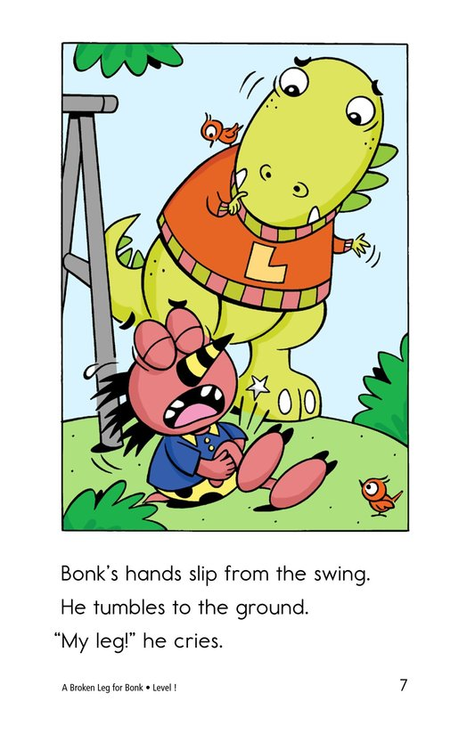 Book Preview For A Broken Leg for Bonk Page 7