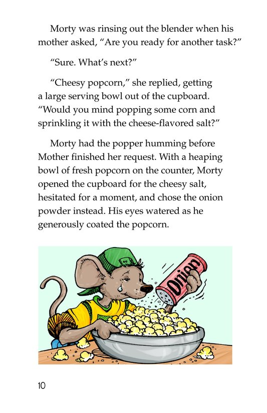 Book Preview For Chef Morty's Party Surprise Page 10