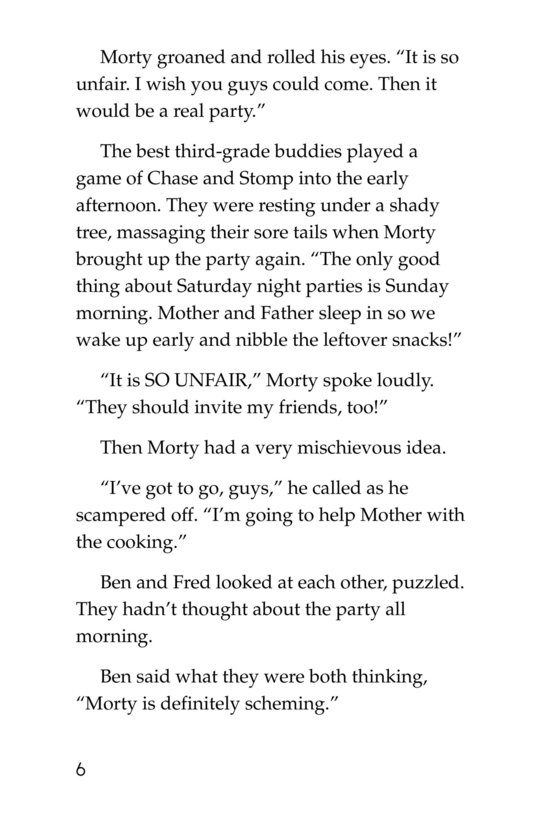 Book Preview For Chef Morty's Party Surprise Page 6