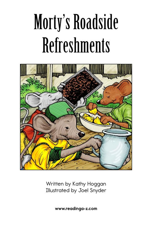 Book Preview For Morty's Roadside Refreshments Page 2