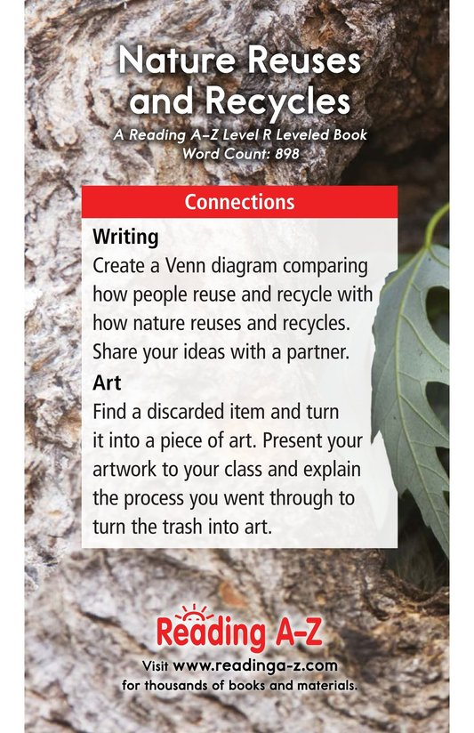 Book Preview For Nature Reuses and Recycles Page 17
