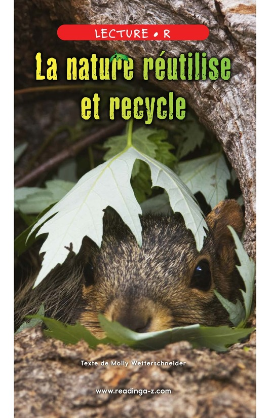 Book Preview For Nature Reuses and Recycles Page 0