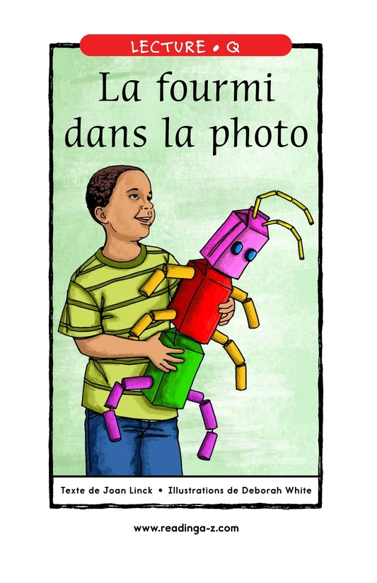 Book Preview For The Ant in the Photograph Page 0