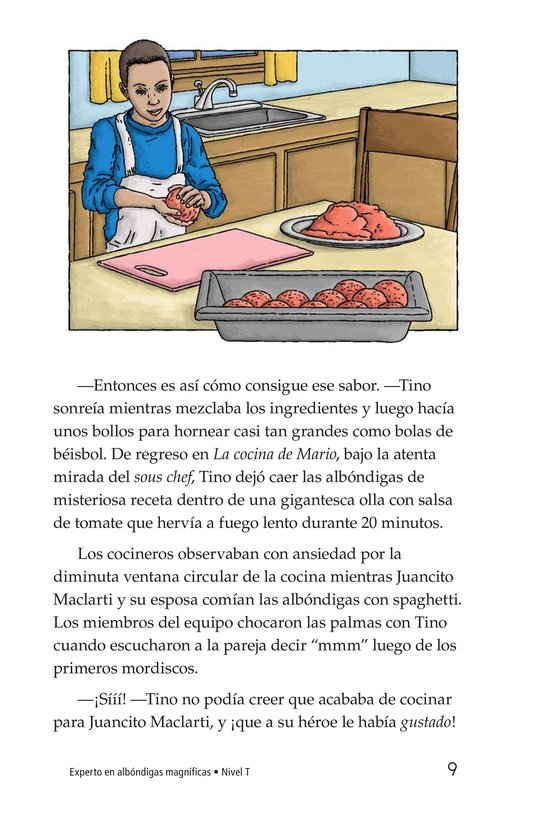 Book Preview For Magnificent Meatball Maker Page 9
