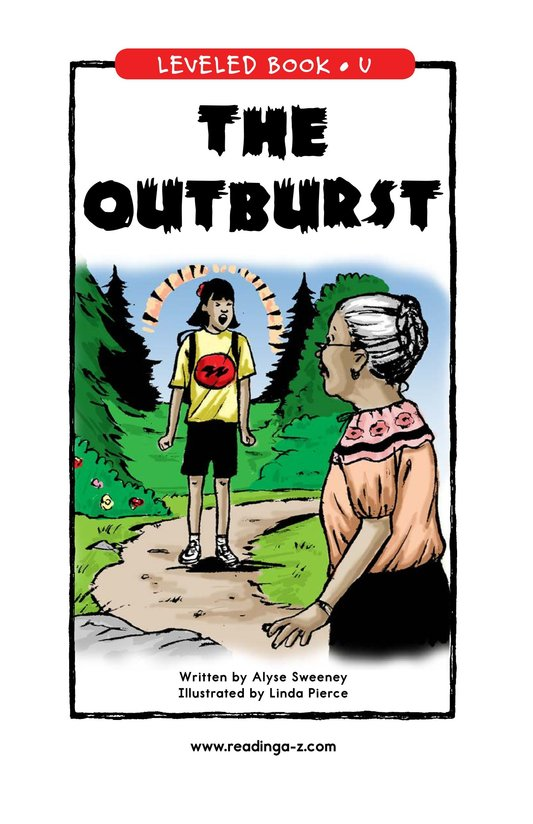 Book Preview For The Outburst Page 0