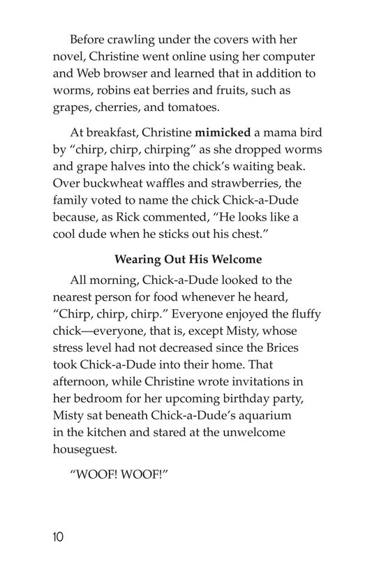 Book Preview For Chick-a-Dude Page 10