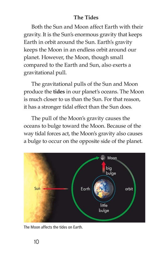Book Preview For The Sun, Earth, and Moon Page 10