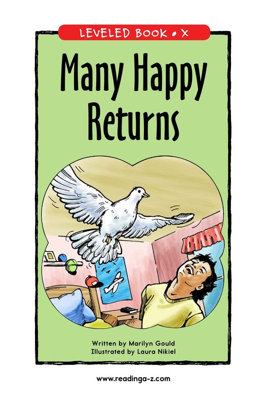 Book Preview For Many Happy Returns Page 0