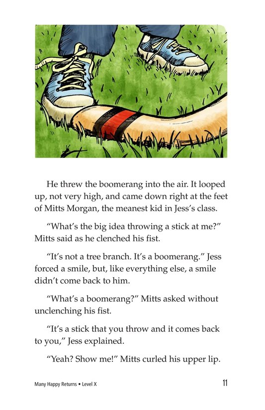Book Preview For Many Happy Returns Page 11