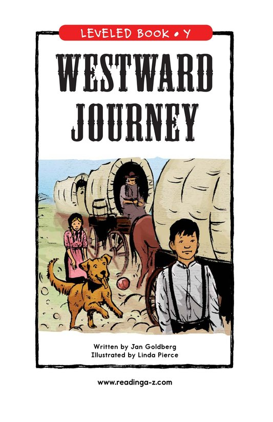 Book Preview For Westward Journey Page 0