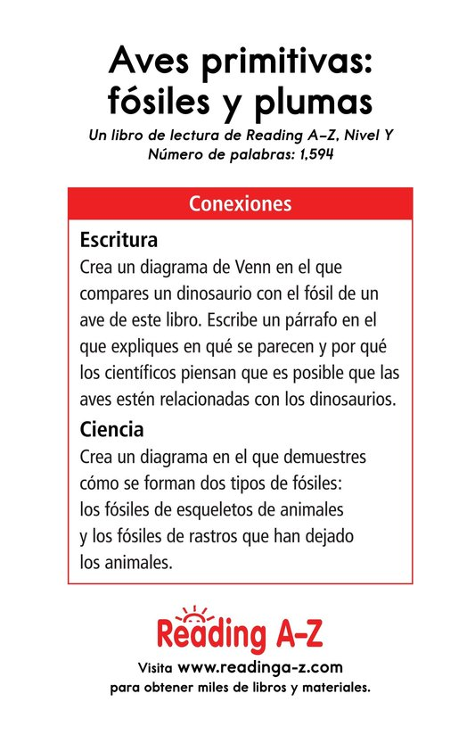 Book Preview For Early Birds: Fossils and Feathers Page 17