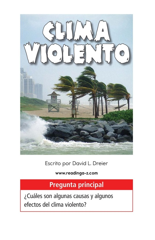 Book Preview For Violent Weather Page 1