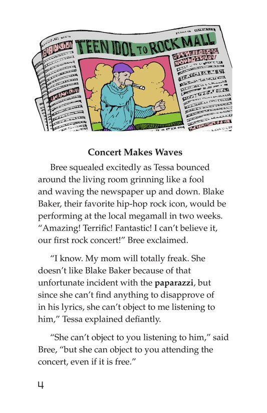 Book Preview For Tessa's Family Day Page 4