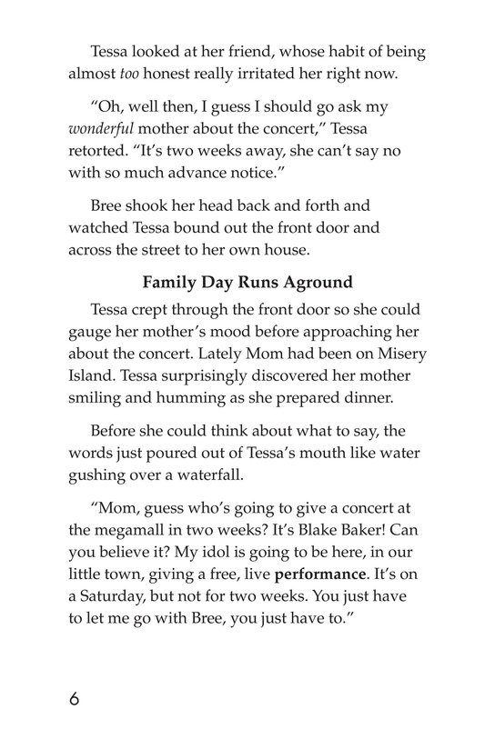 Book Preview For Tessa's Family Day Page 6