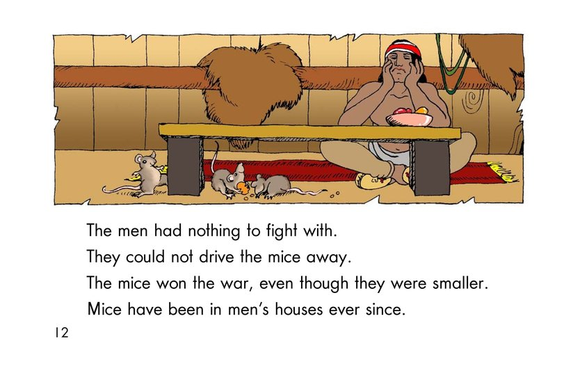 Book Preview For How the Mice Beat the Men Page 12