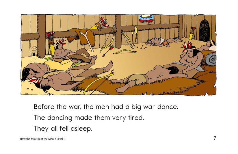 Book Preview For How the Mice Beat the Men Page 7