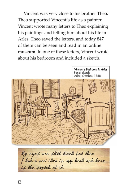 Book Preview For Vincent's Bedroom Page 12