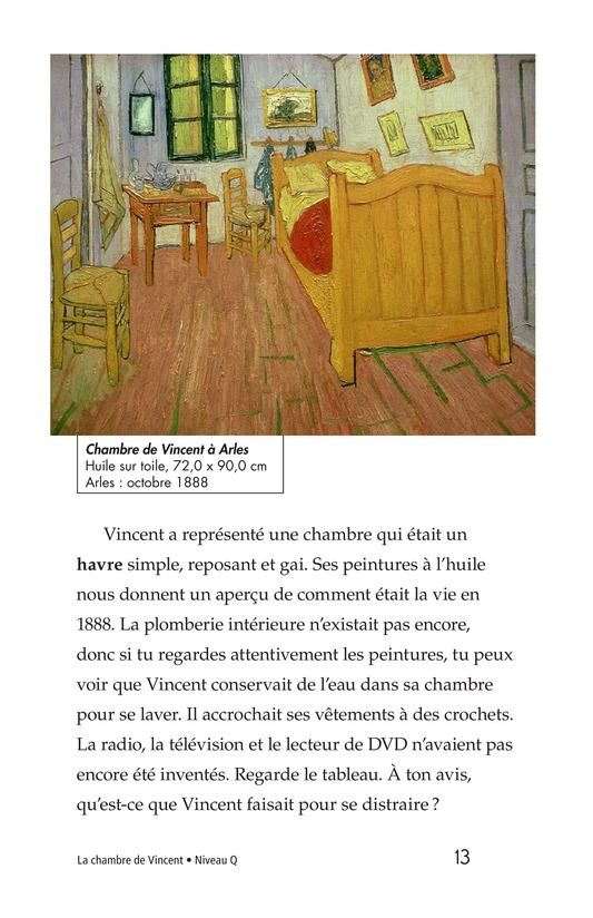 Book Preview For Vincent's Bedroom Page 13