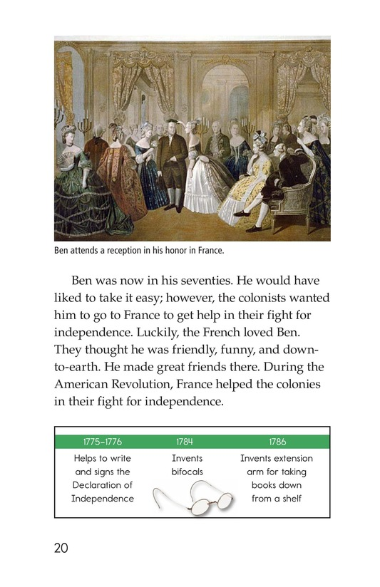 Book Preview For Ben Franklin Page 20