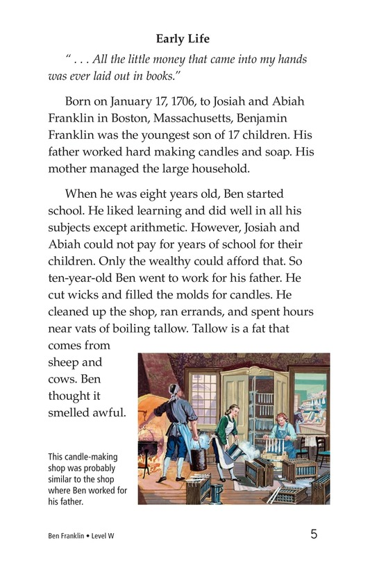 Book Preview For Ben Franklin Page 5