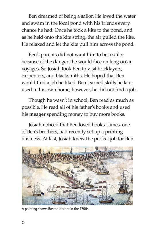 Book Preview For Ben Franklin Page 6