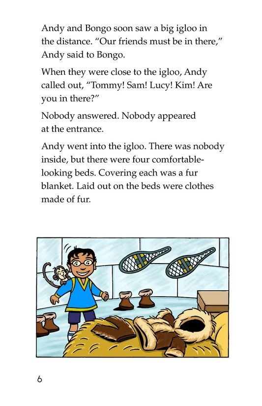 Book Preview For Andy in the Arctic Page 6