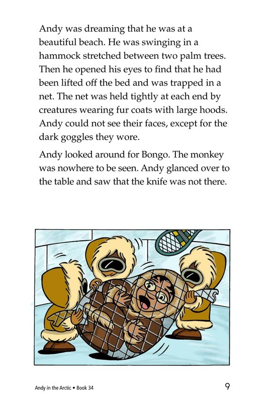 Book Preview For Andy in the Arctic Page 9