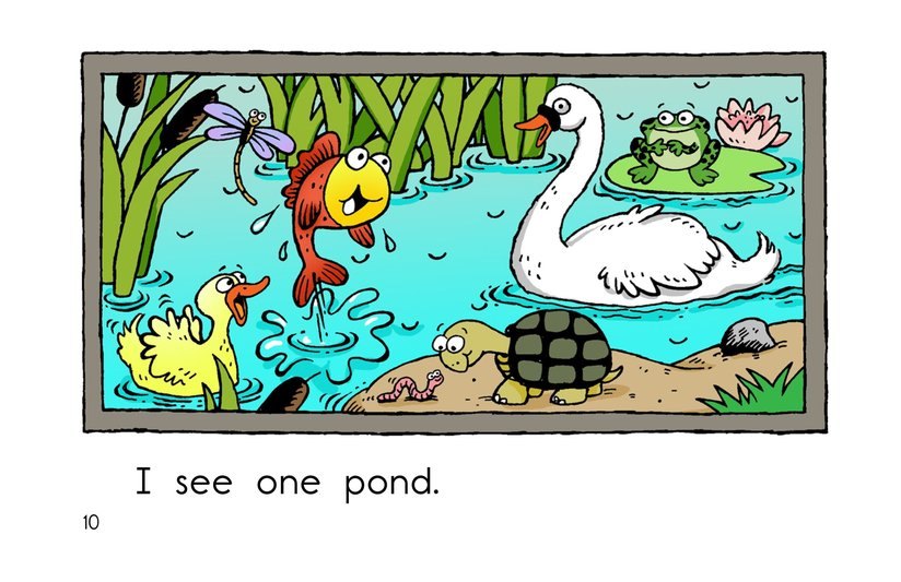 Book Preview For Pond Animals Page 10