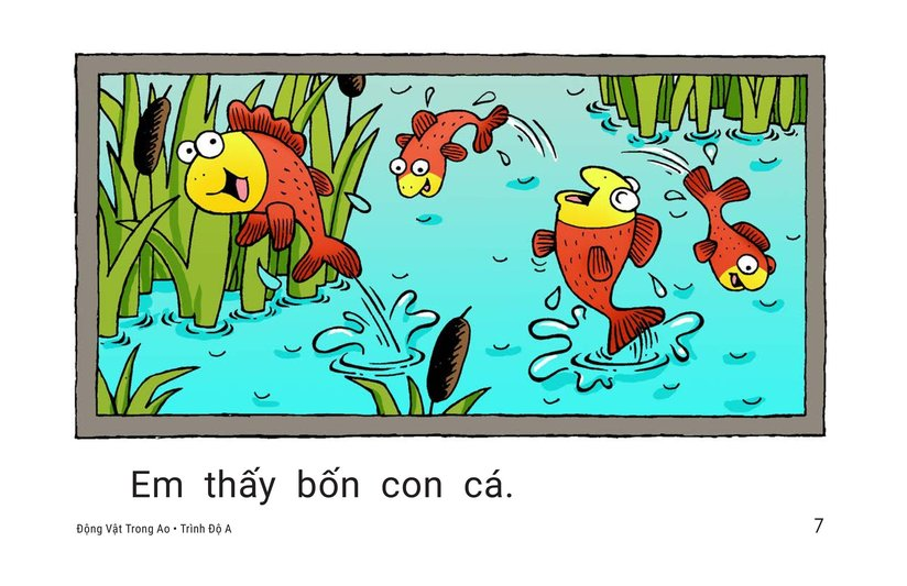Book Preview For Pond Animals Page 7