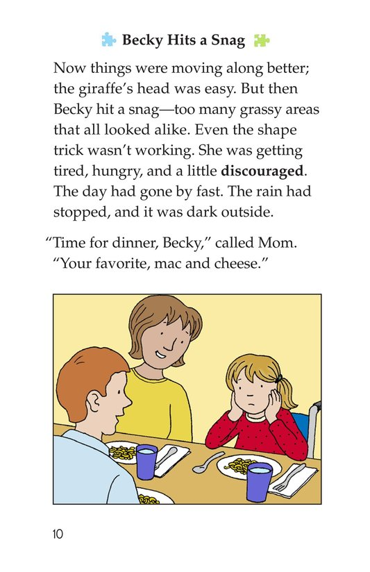Book Preview For Becky's Puzzle Problem Page 10