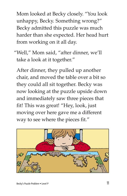 Book Preview For Becky's Puzzle Problem Page 11