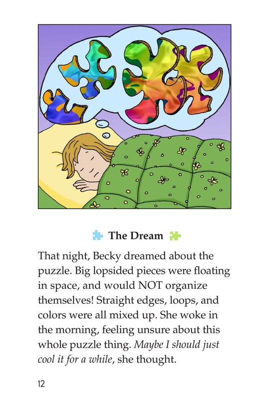 Book Preview For Becky's Puzzle Problem Page 12