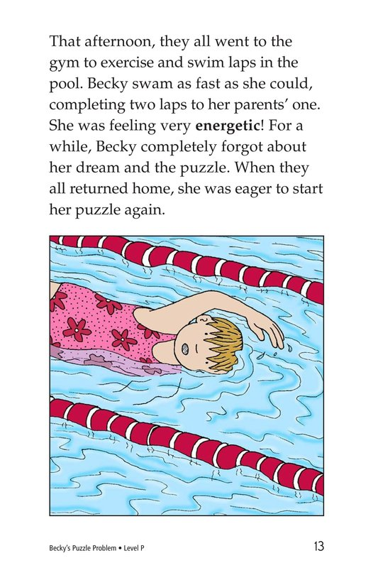 Book Preview For Becky's Puzzle Problem Page 13