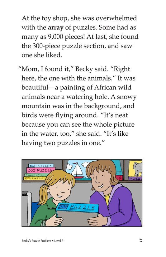 Book Preview For Becky's Puzzle Problem Page 5