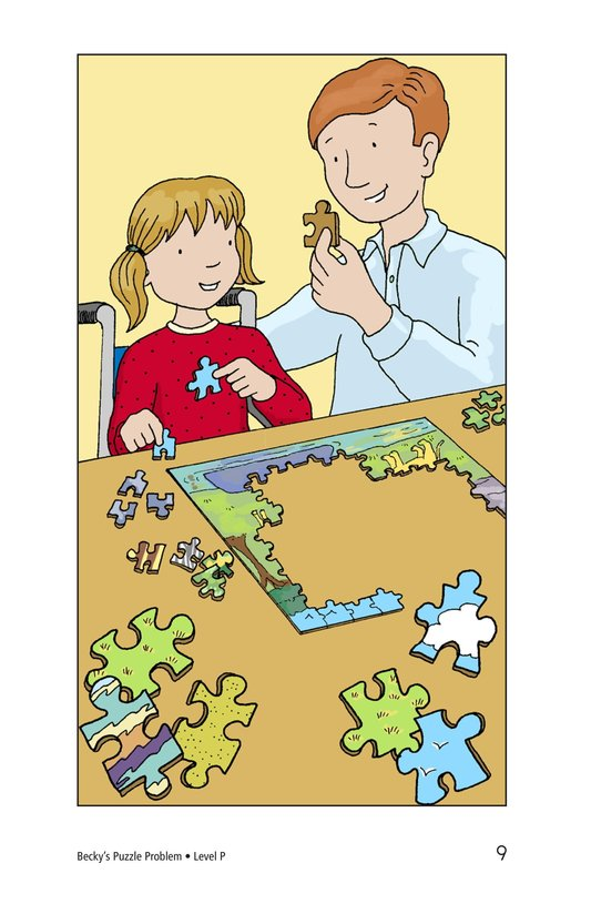 Book Preview For Becky's Puzzle Problem Page 9